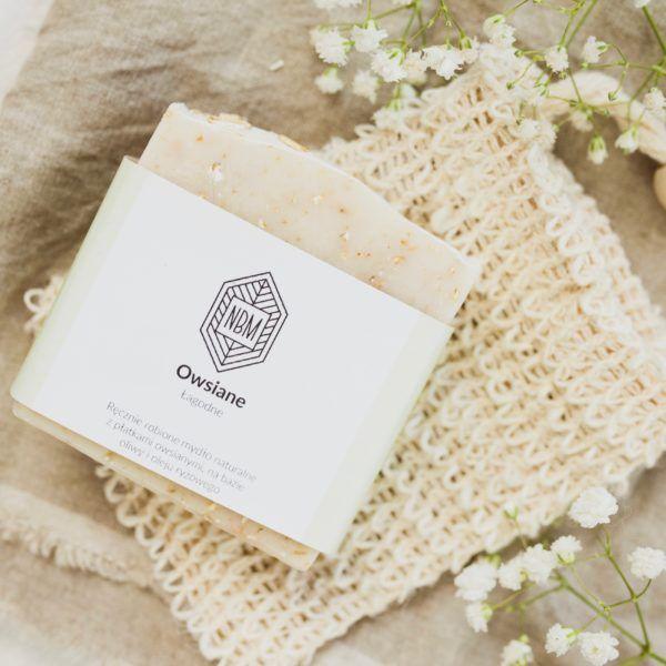 naturalne mydło owsiane