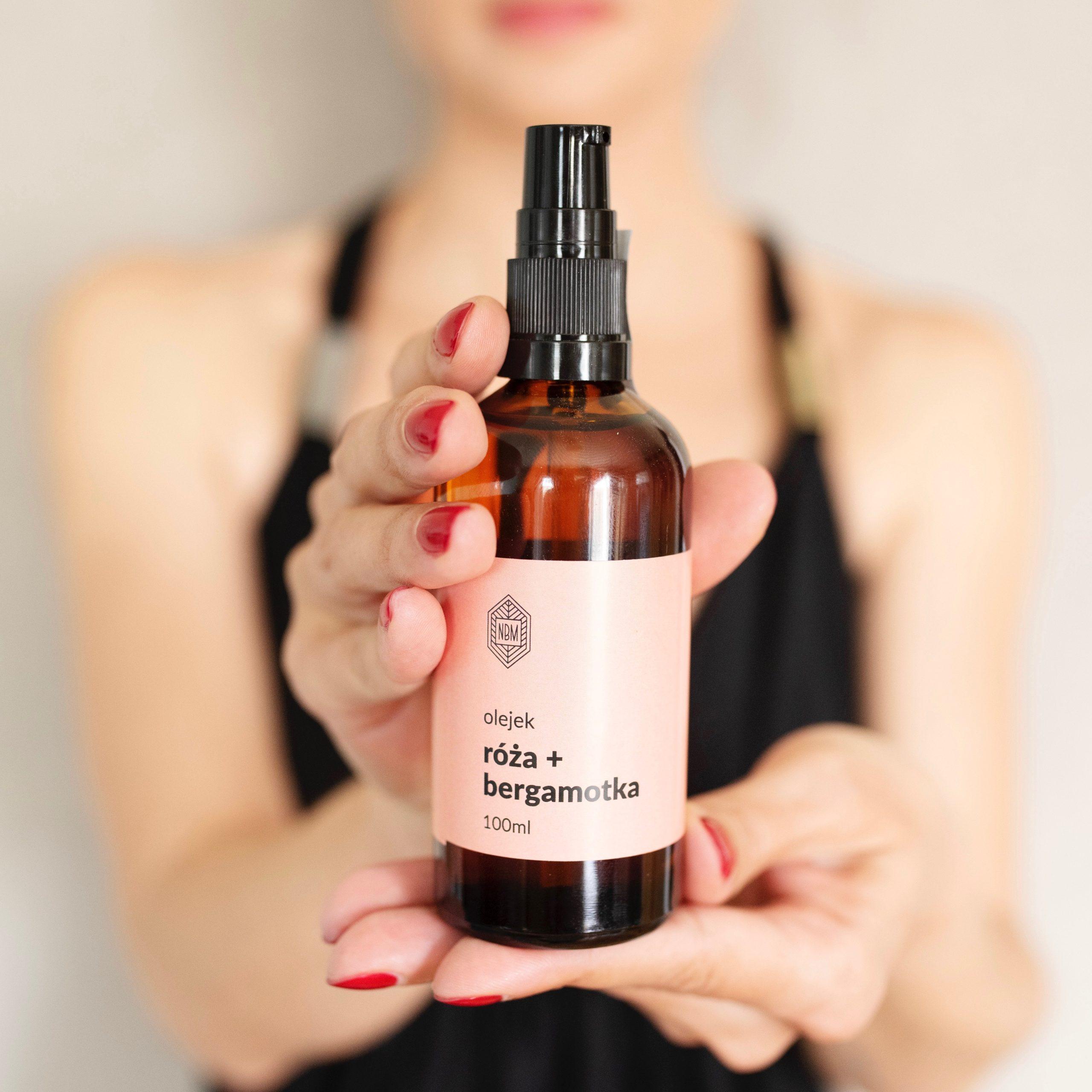pachnący olejek do ciała